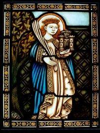 Svatá Barbora (vitráž)